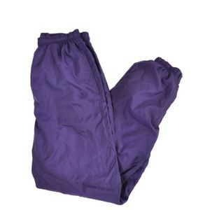 Vintage purple adidas track pants.